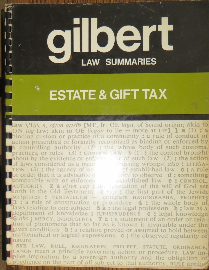 Image for Gilbert Estate & Gift Tax