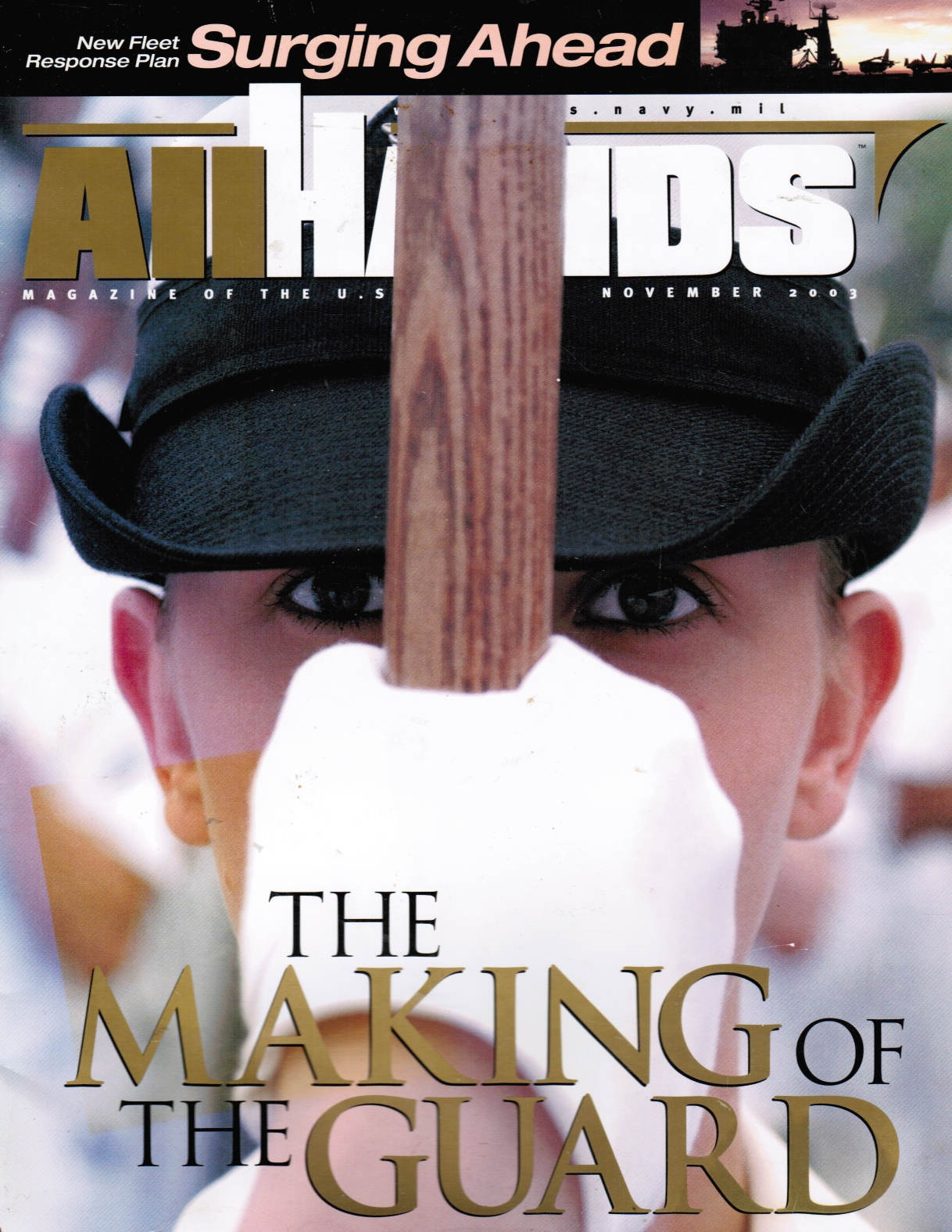 Image for All Hands: the Making of the Guard (US Navy Ceremonial Guard)