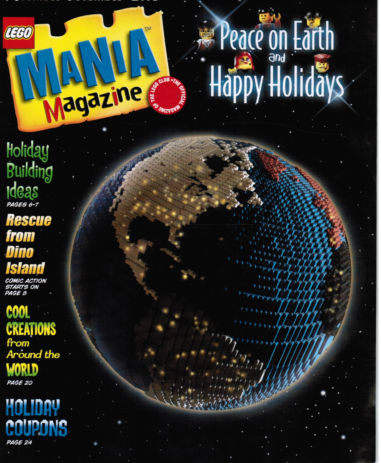 Image for Lego Mania Magazine: November - December 2001