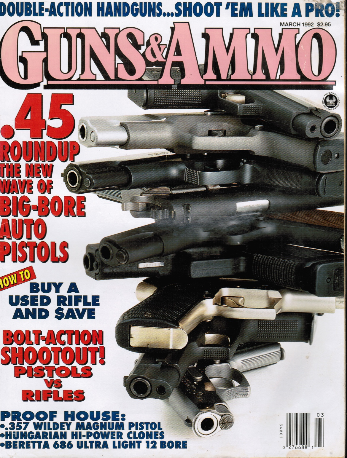 Image for Guns & Ammo Magazine March 1992