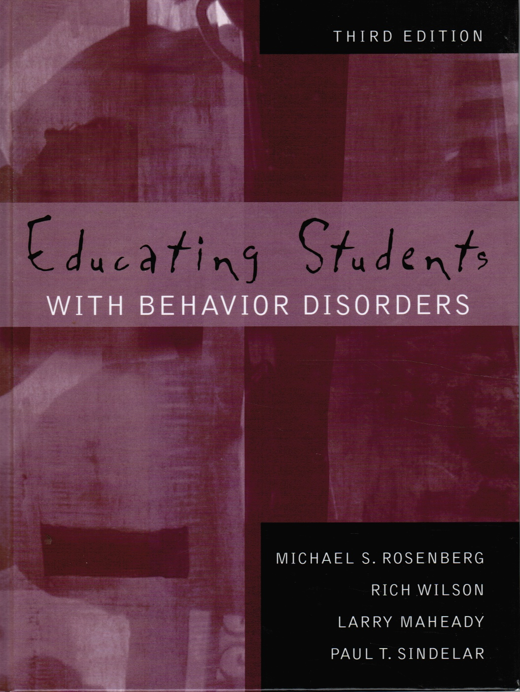 Image for Educating Students with Behavior Disorders
