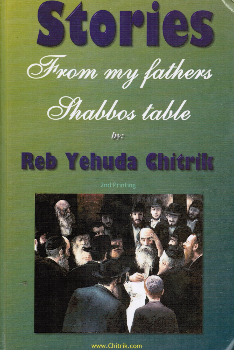 Image for Stories From My Father`s Shabbos Table - A Collection of Chabad Chasidic Stories