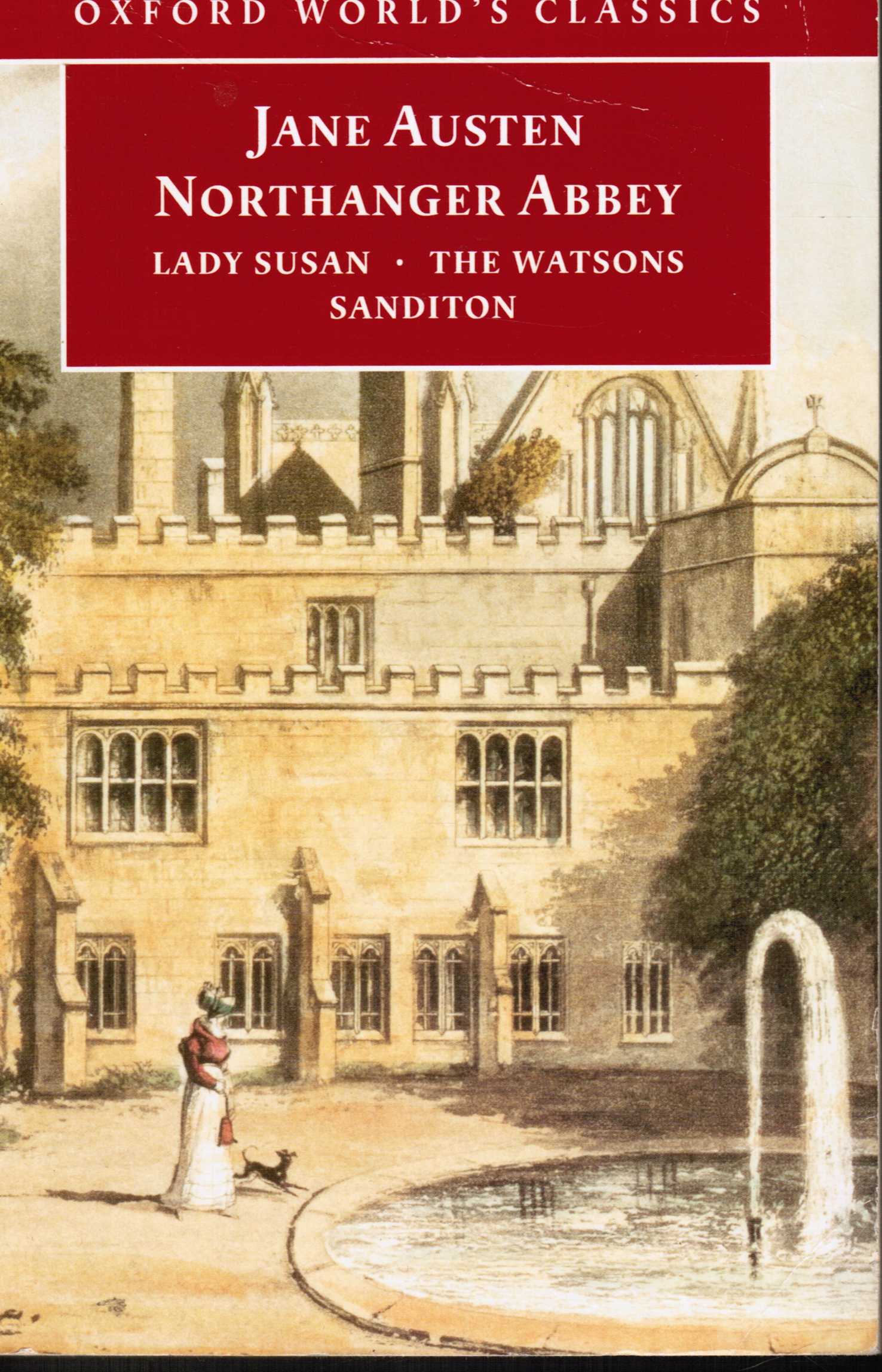 Image for Northanger Abbey: Lady Susan, the Watsons, Sanditon