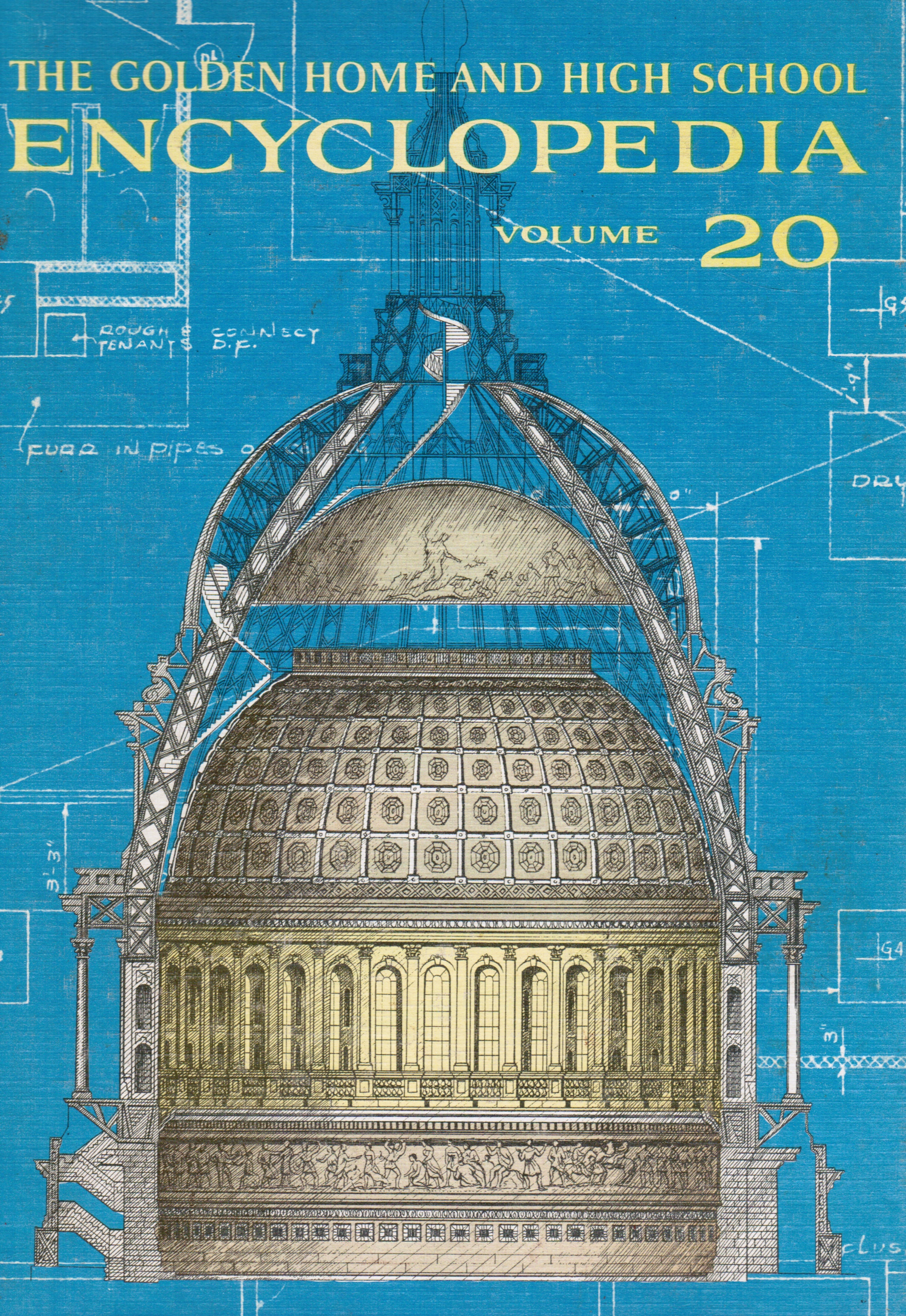 Image for The Golden Home and High School Encyclopedia : Vol. 20 (XX)