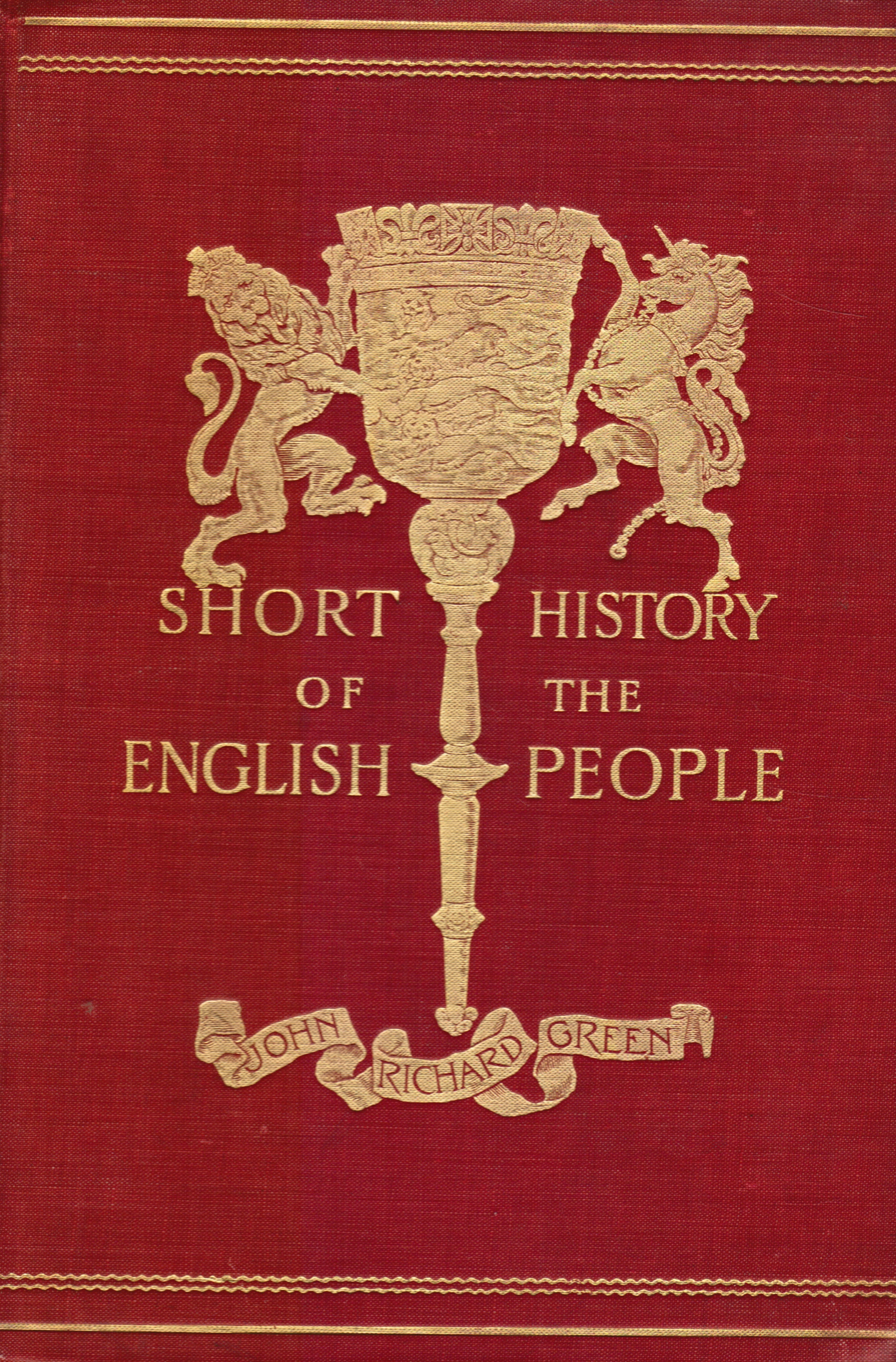 Image for Short History of the English People: Volume Four