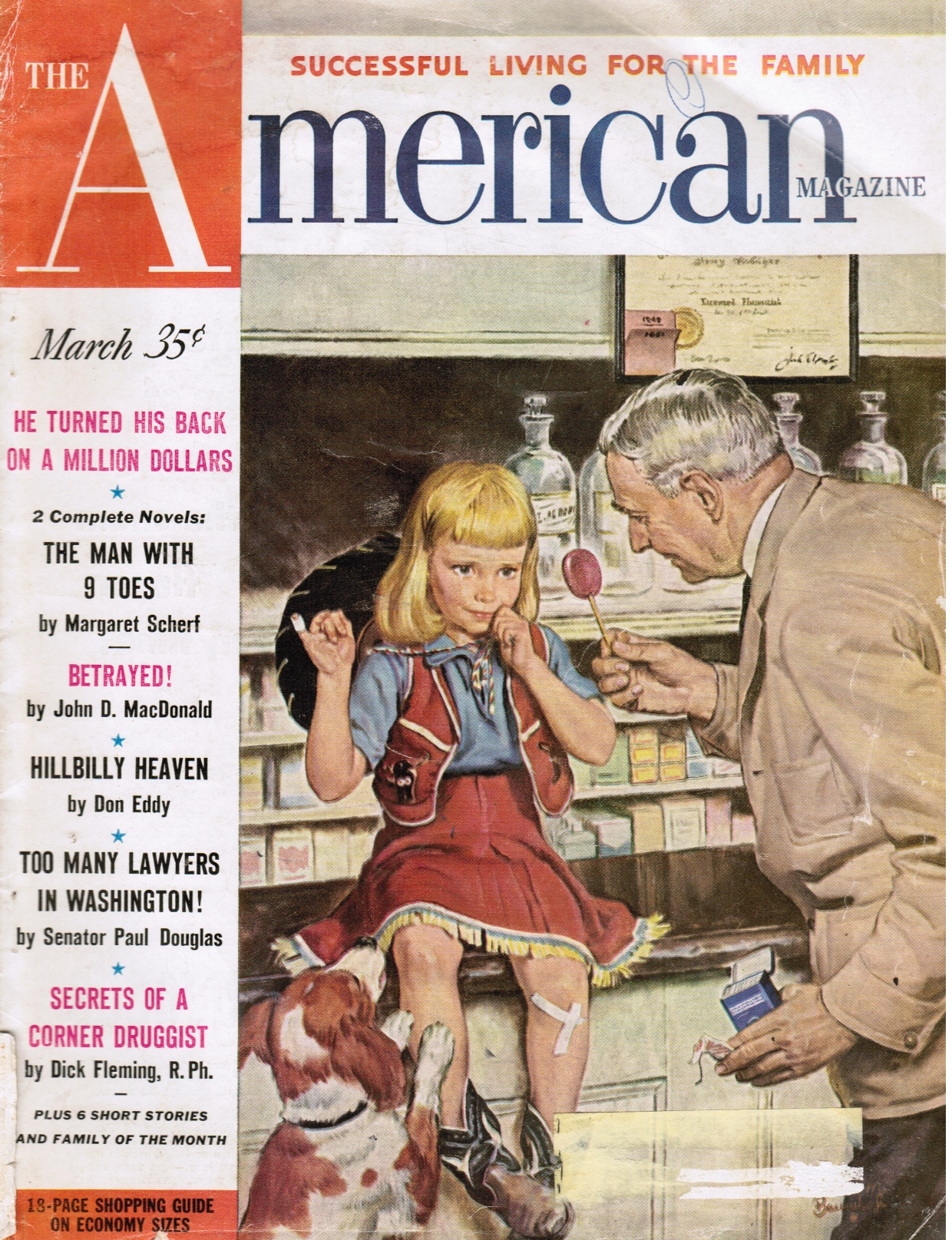 Image for The American Magazine: March 1952