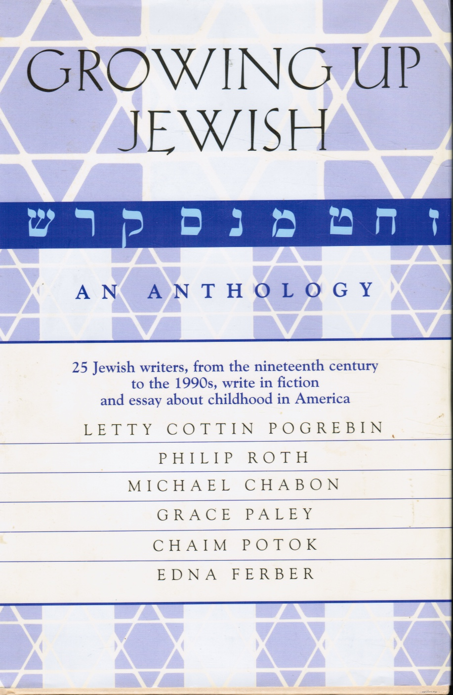 Image for Growing Up Jewish : an Anthology