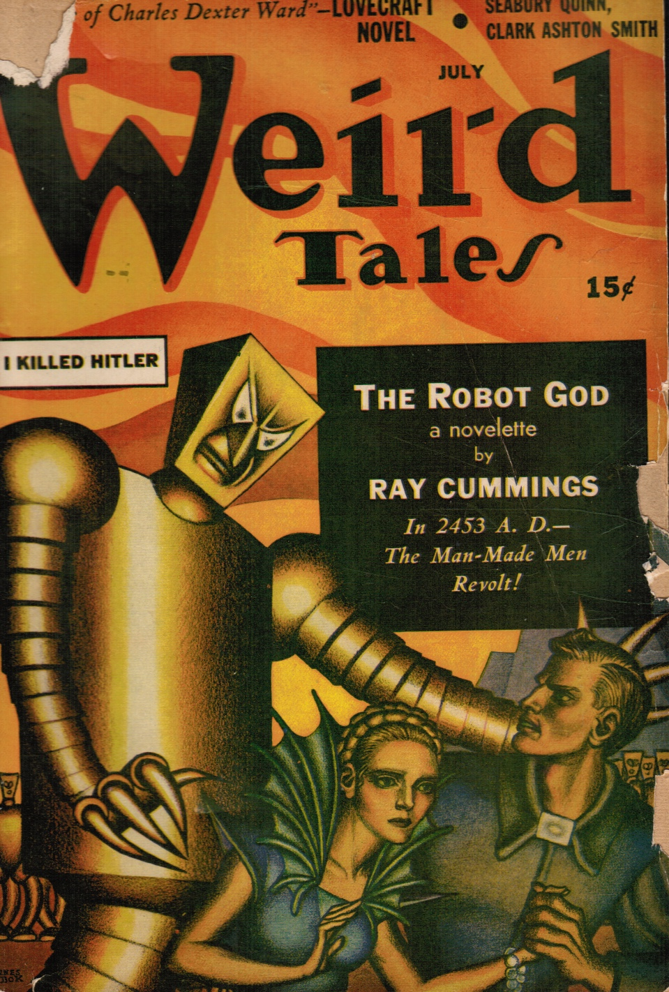 Weird Tales - July 1941 - Vol. 35, No. 10 I Killed Hitler