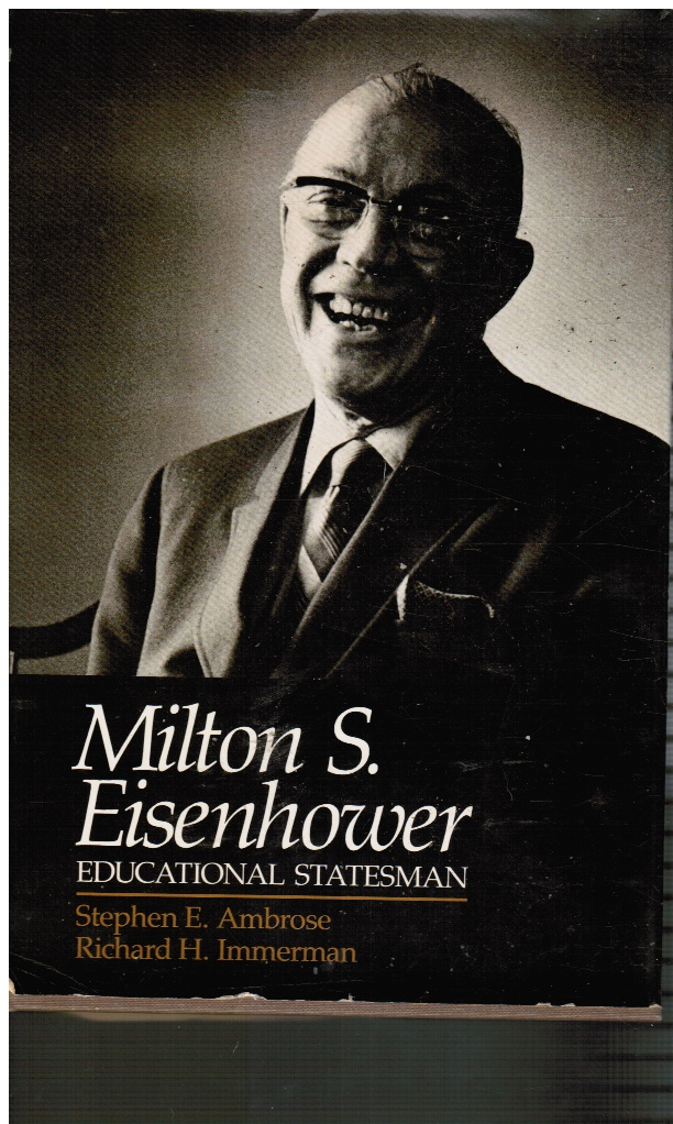 Image for Milton S. Eisenhower: Educational Statesman