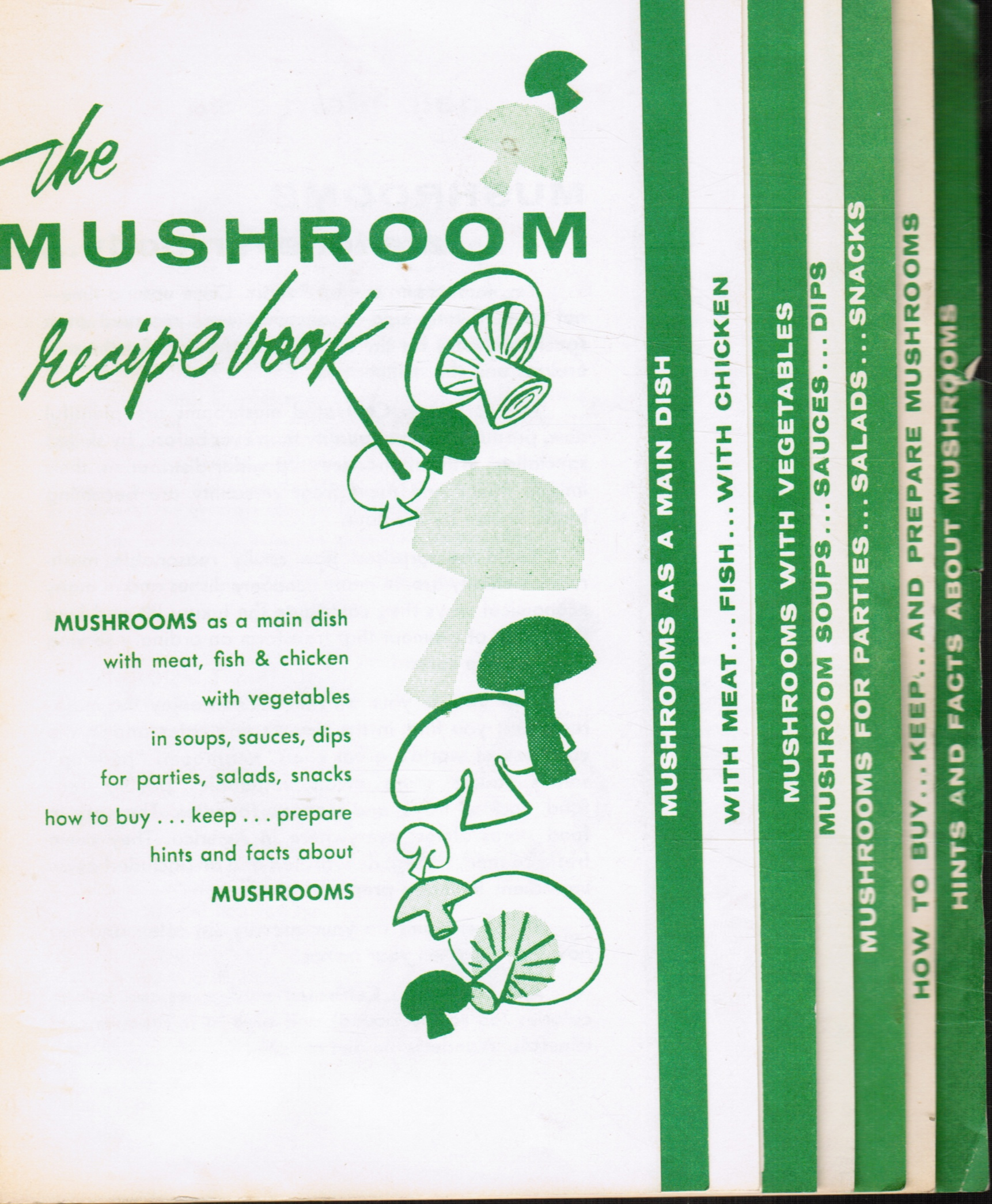 Image for The Mushroom Recipe Book