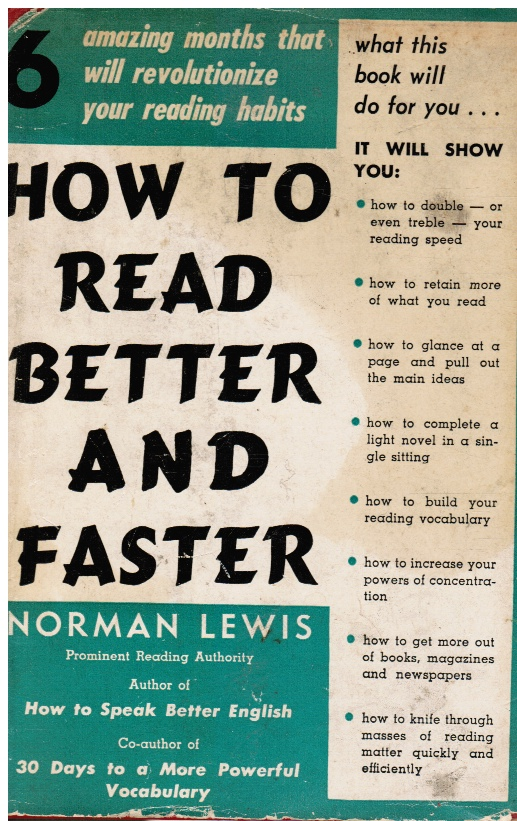 Image for How to Read Better and Faster