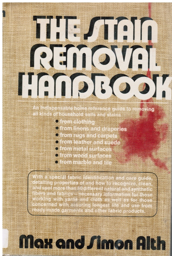 Image for The stain removal handbook