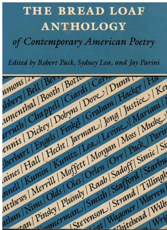 Image for The Bread Loaf Anthology of Contemporary American Poetry