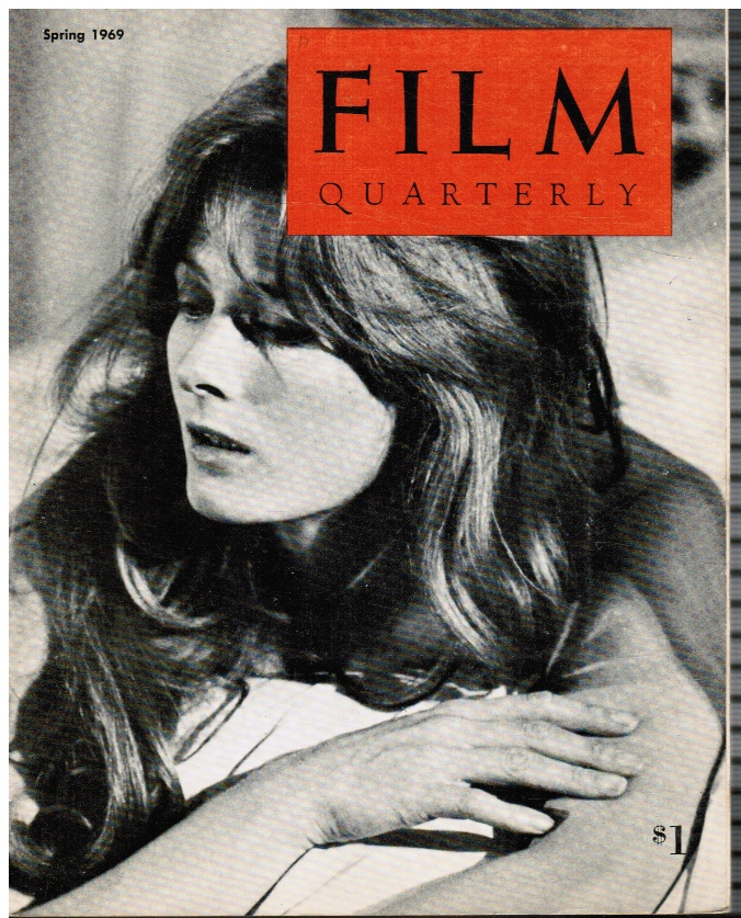 Image for Film Quarterly -- Spring 1969