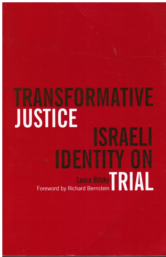 Image for Transformative Justice: Israeli Identity on Trial