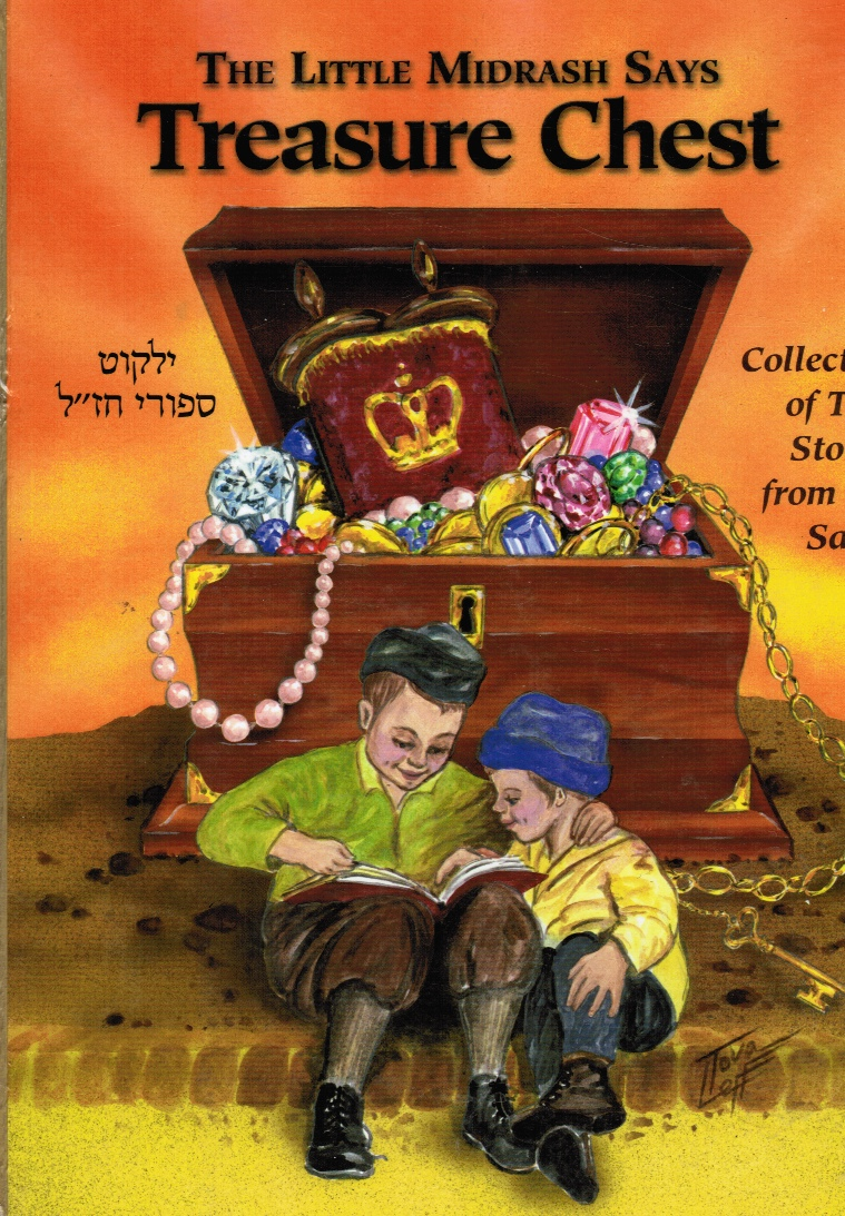 Image for The Little Midrash Says: Treasure Chest - a Collection of True Stories from Our Sages