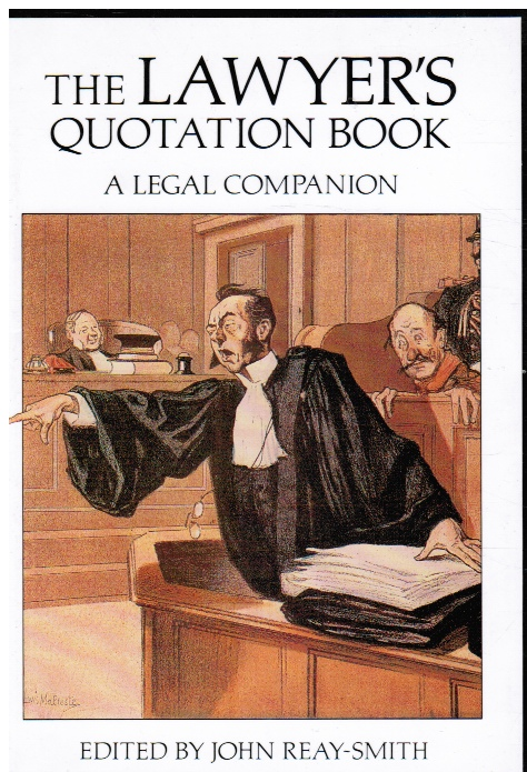 Image for Lawyers Quotation Book a Legal Companion