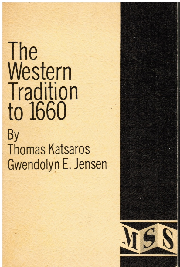 Image for The Western Tradition to 1660
