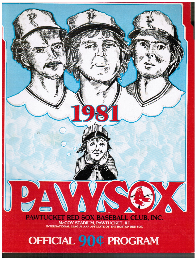 Image for 1981 PAWSOX Official Program