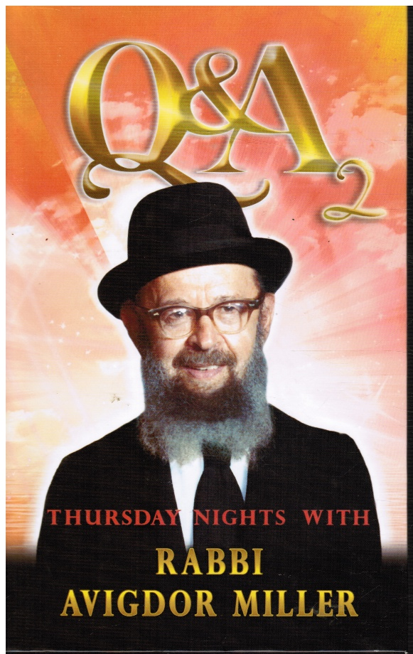 Image for Q & A Thursday Nights with Rabbi Avigdor Miller
