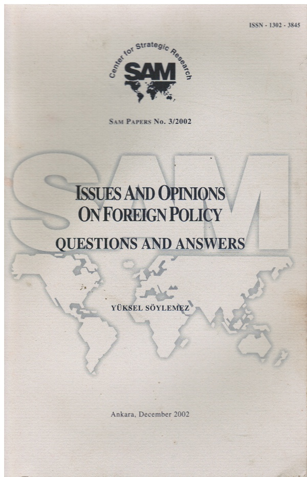 Image for Issues and Opinions of Foreign Policy: Questions and Answers