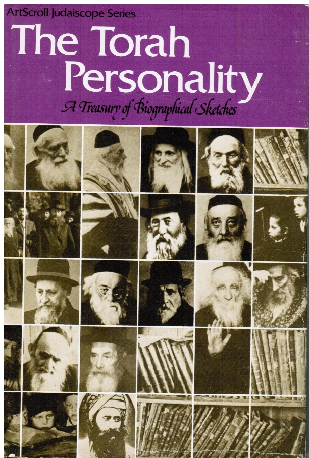 Image for The Torah Personality: Treasury of Biographical Sketches