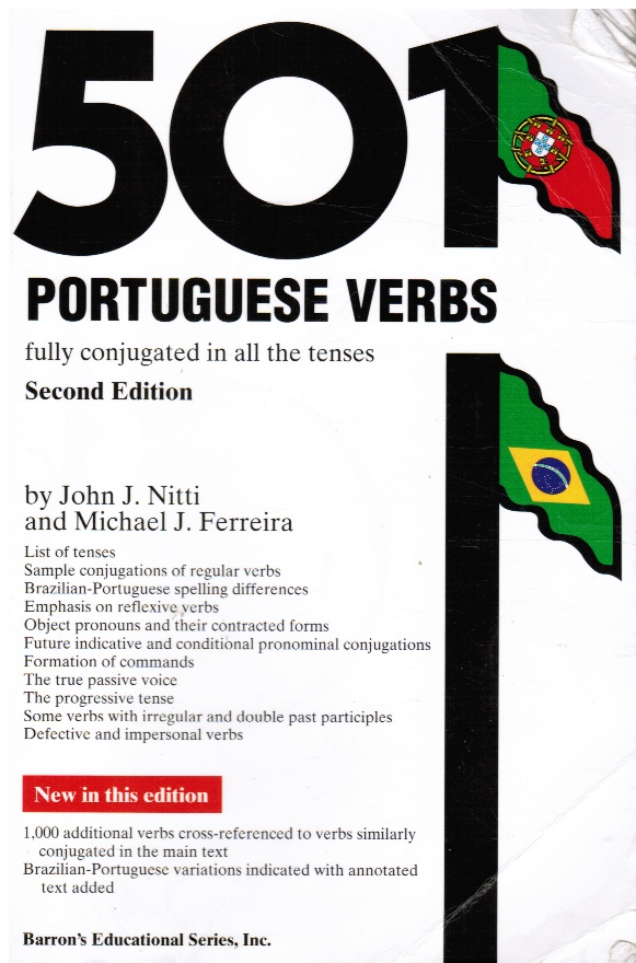 Image for 501 Portuguese Verbs