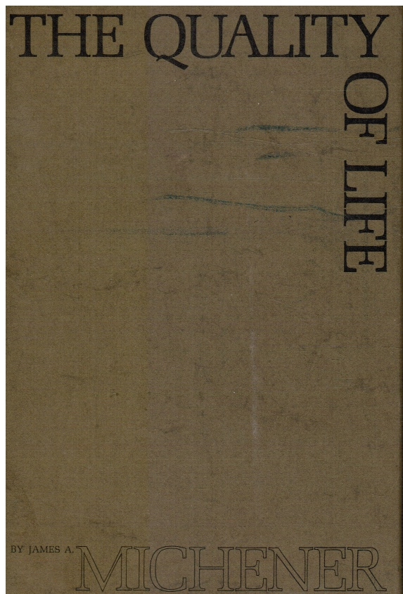 Image for The Quality of Life (In Slipcase)