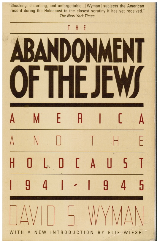 Image for Abandonment of the Jews: American and the Holocaust 1941-1945