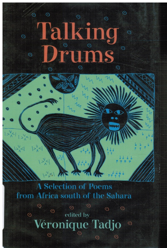 Image for Talking Drums: a Selection of Poems from Africe South of the Sahara