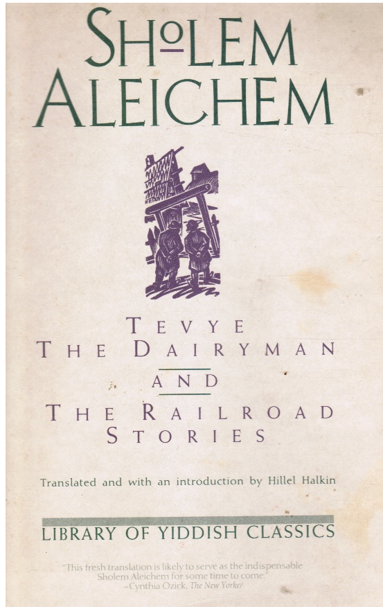 Image for Tevye the Dairyman and the Railway Stories