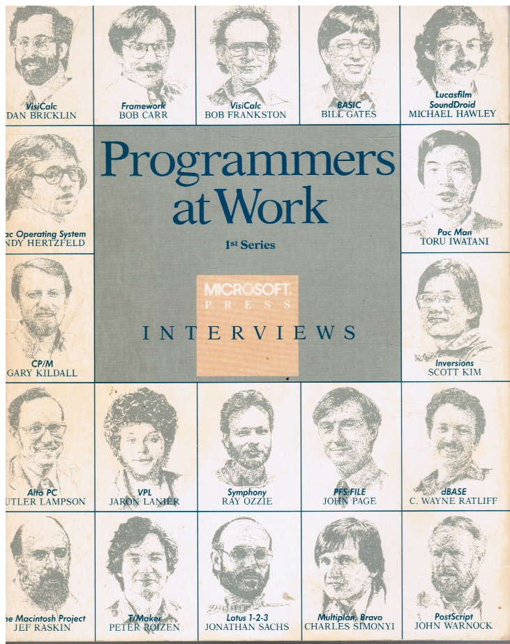 Image for Programmers at Work: 1st Series