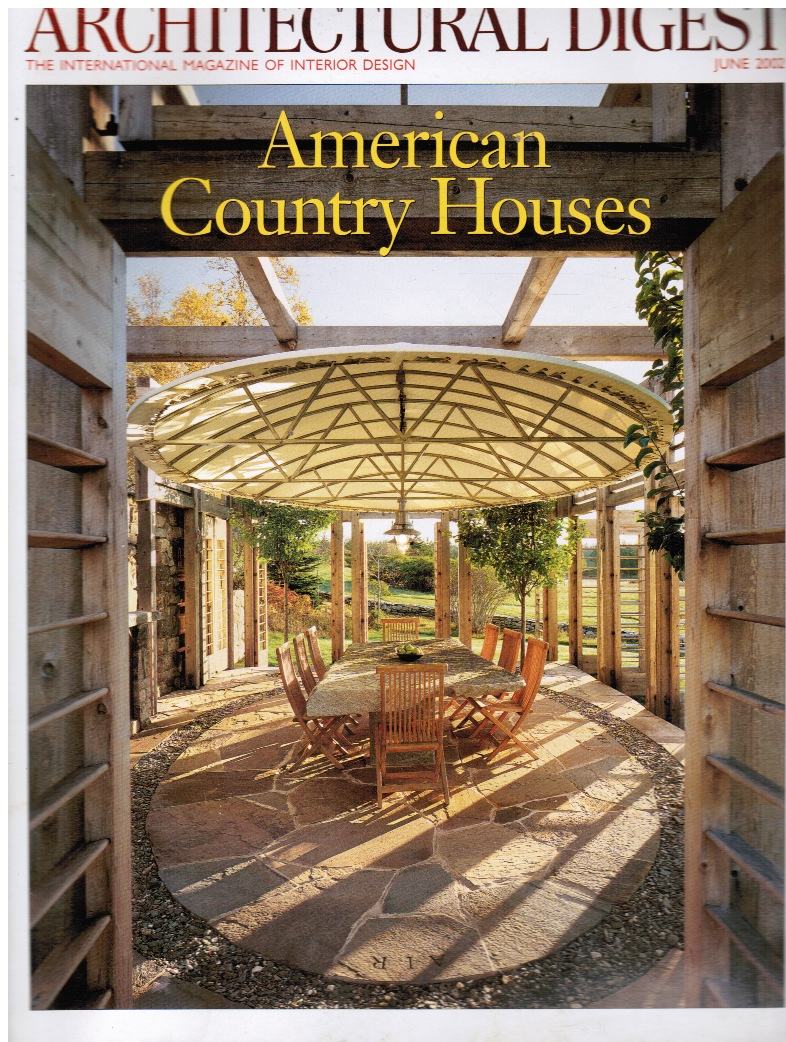 Image for Architectural Digest June 2002: Volume 59, No. 6 American Country Homes