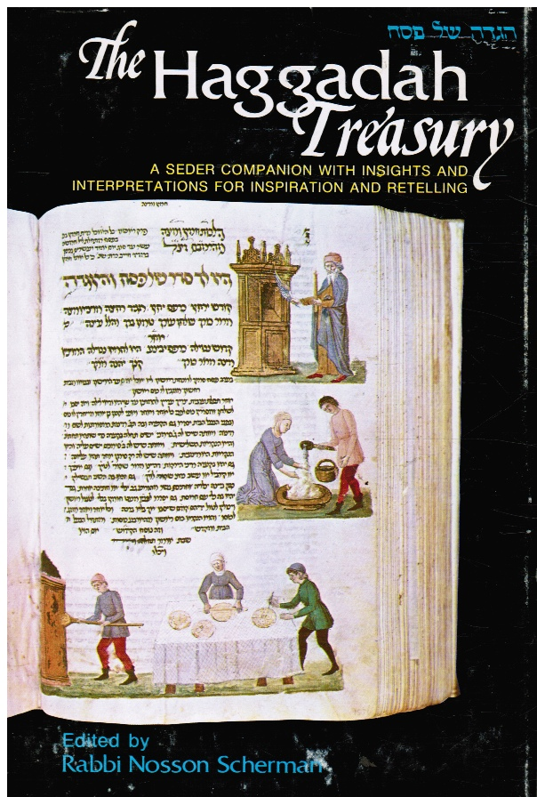 Image for The Haggadah Treasury: a Seder Companion with Insights and Interpretations for Inspiration and Retelling