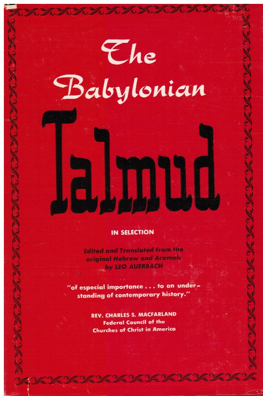 Image for The Babylonian Talmud in Selection