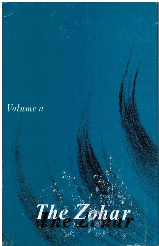 The Zohar : Volume II