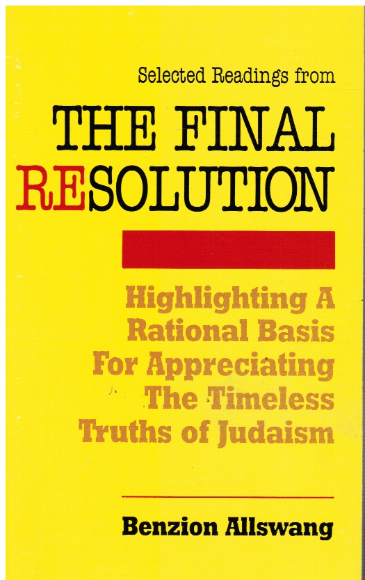 Image for Selected Readings from the Final Resolution