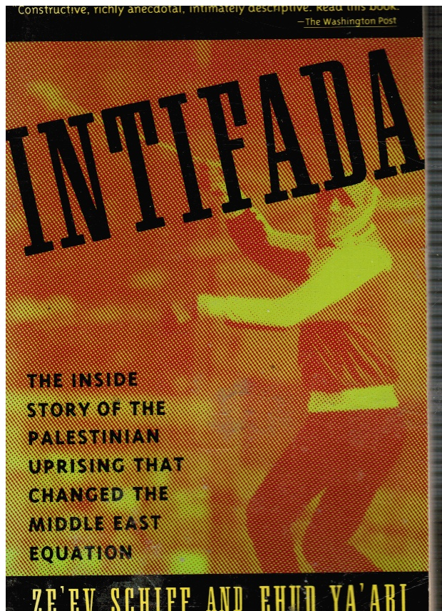 Image for Intifada: the Palestinian Uprising--Israel's Third Front