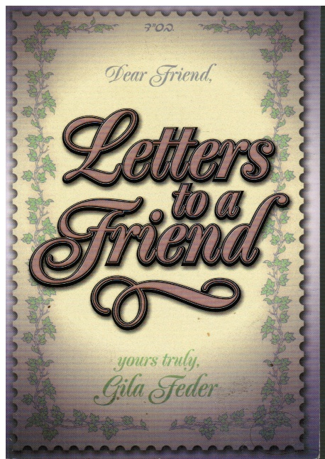 Image for Letters to a Friend
