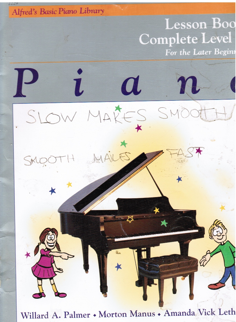 Image for Piano Lesson Book: Complete Level 1, for the Later Beginner
