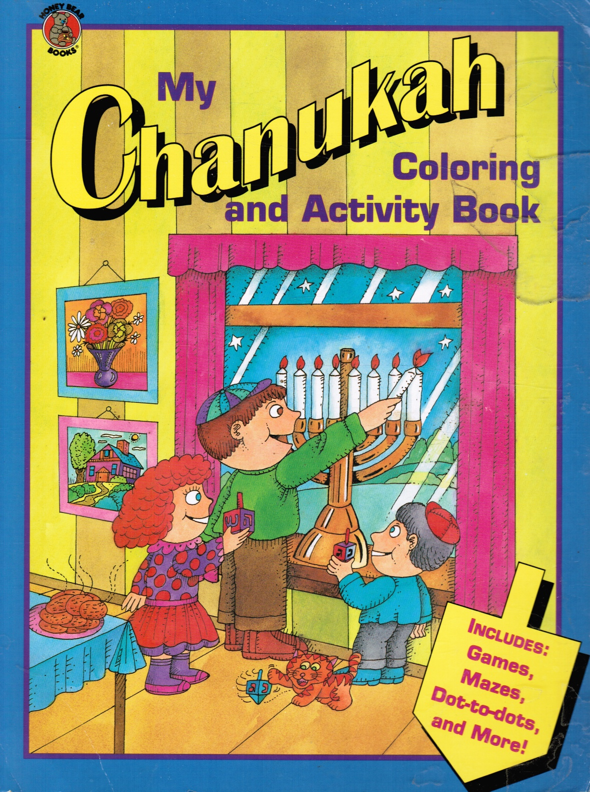 Image for My Chanukah Coloring and Activity Book