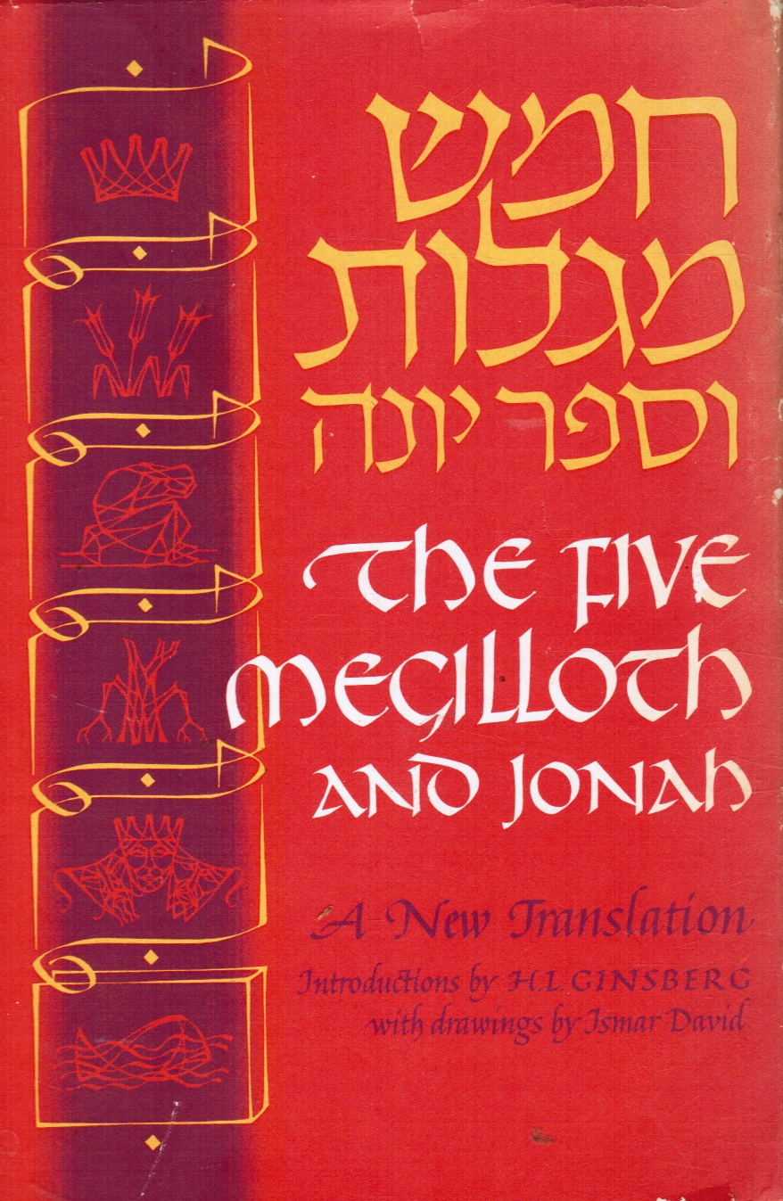 Image for Five Megilloth And Jonah: A New Translation