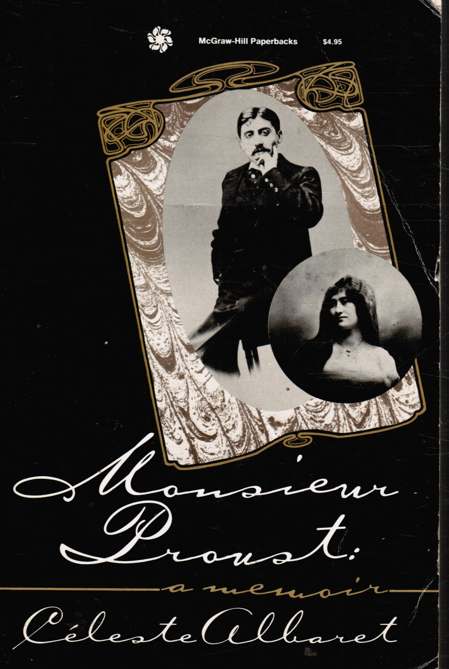 Image for Monsieur Proust: a Memoir