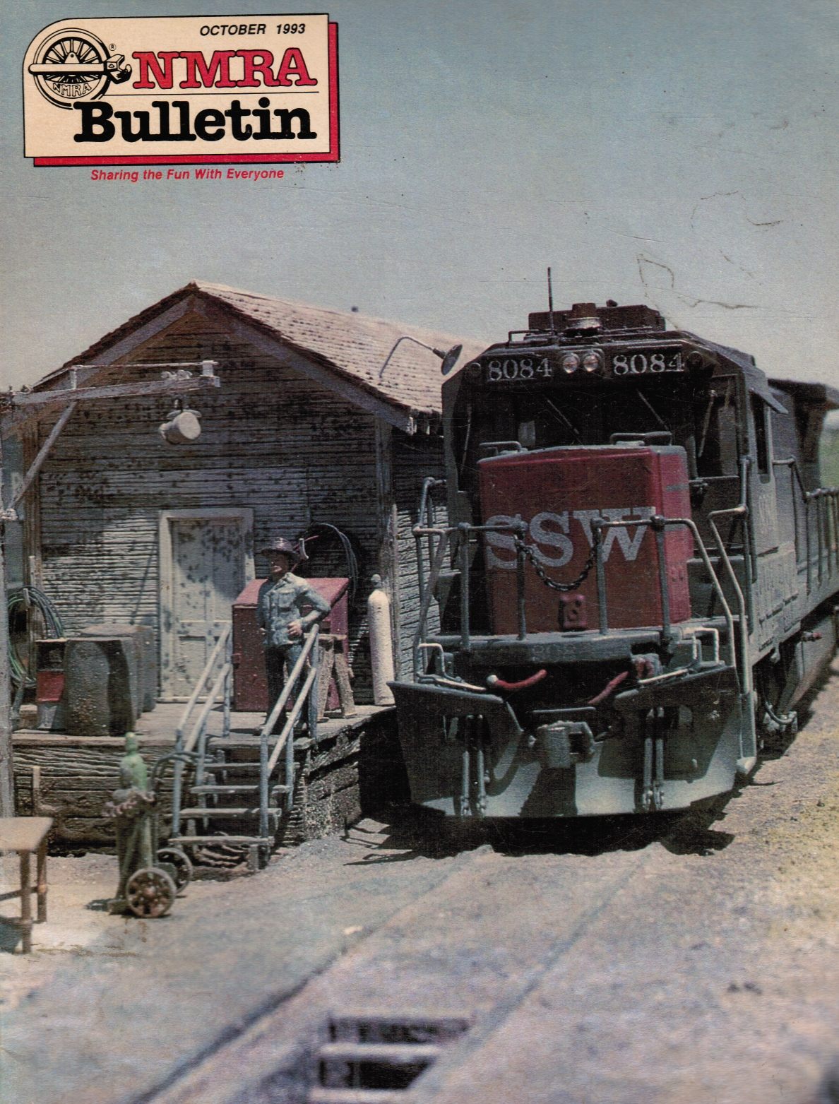 Image for NMRA [National Model Railroad Association] Bulletin, Vol.60, Number 2 - October 1993