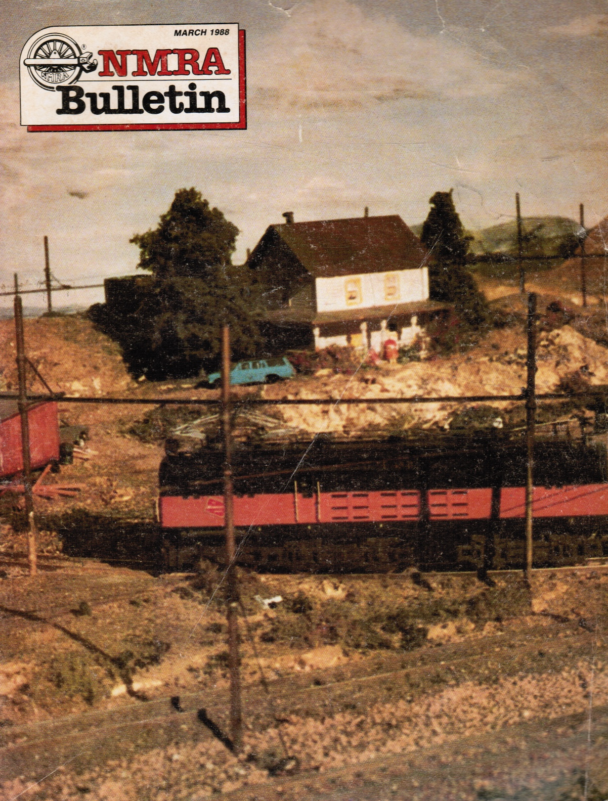 Image for NMRA [National Model Railroad Association] Bulletin, Vol.53, No 7, March 1988