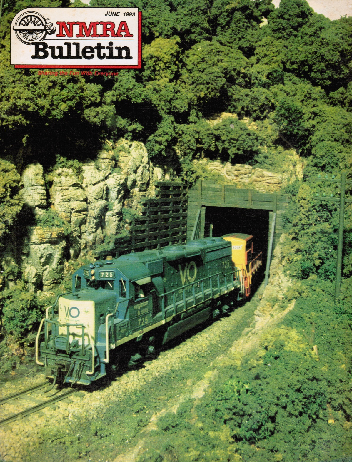 Image for NMRA [National Model Railroad Association] Bulletin, Vol.59, Number 10, June 1993