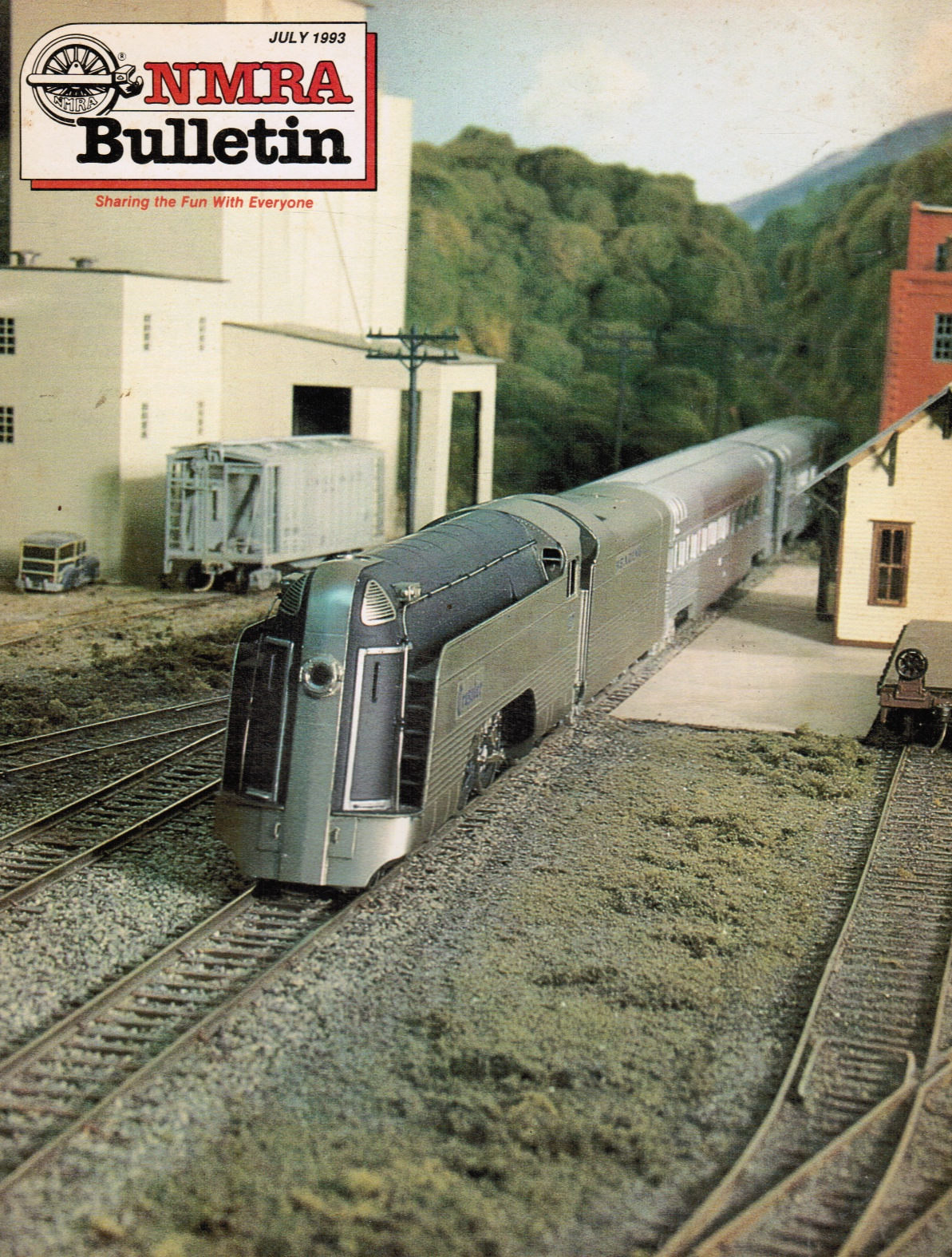 Image for NMRA [National Model Railroad Association] Bulletin, Vol 59, No 11 July 1993 1992 Periodical Index