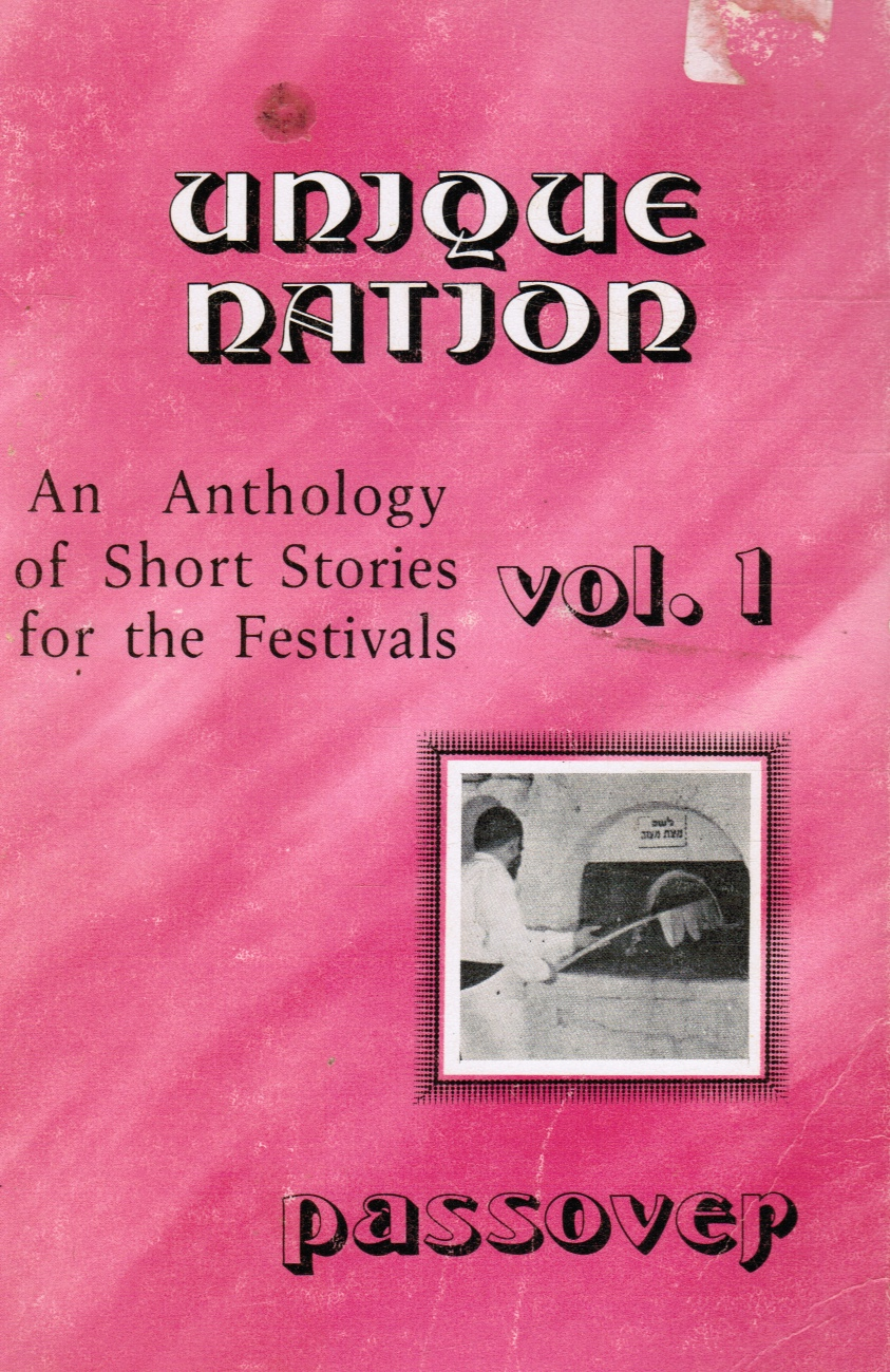 Image for An Anthology of Short Stories for the Festivals, Vol. 1 Passover Pessach