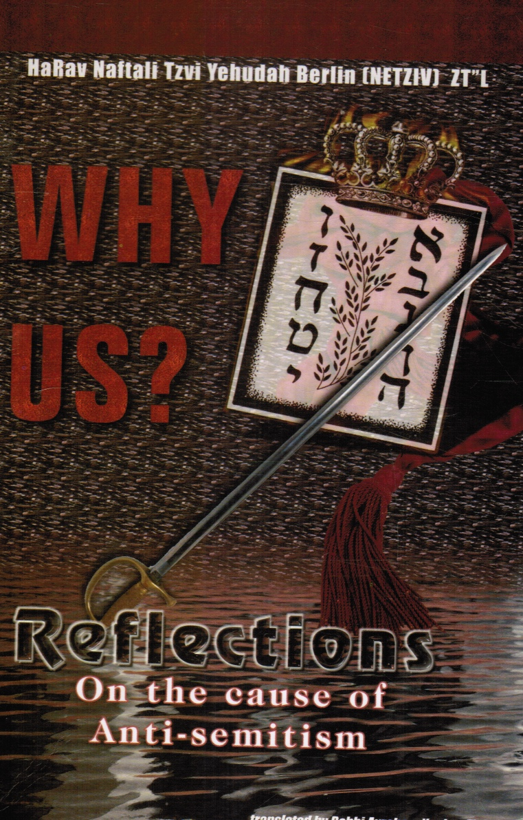 Image for Why Us? Reflections on the Cause of Anti-Semitism