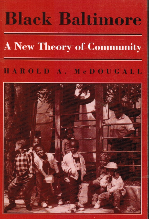 Image for Black Baltimore : a New Theory of Community